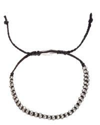 Paul Smith - Black Double Bead Bracelet for Men - Lyst