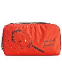 LeSportsac | Orange Rectangular Cosmetics Case | Lyst