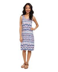 Tommy Bahama - Blue Mosaic Abrush Dress - Lyst