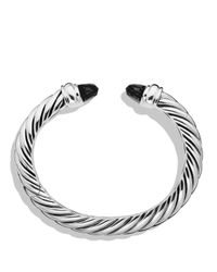 David Yurman - Metallic Waverly Bracelet With Black Onyx - Lyst