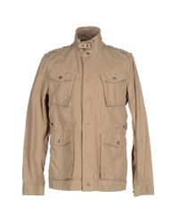 Woolrich | Natural Four Pocket Jacket for Men | Lyst