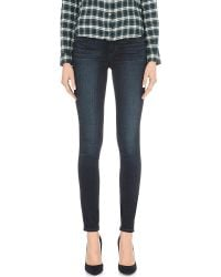 PAIGE | Blue Verdugo Ankle Ultra-skinny Mid-rise Jeans | Lyst