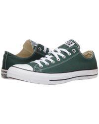 Converse - Green Chuck Taylor® All Star® Seasonal Ox - Lyst