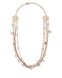 Dinny Hall - Metallic Rose Gold Vermeil Talitha Necklace - Lyst
