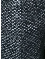 Simone Rocha - Black Open-knit Mohair-blend Sweater - Lyst