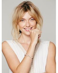 Free People - Pink Bhanda Stone Bracelet - Lyst