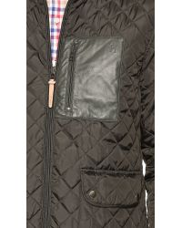 Shipley & Halmos - Green Dean Quilted Jacket for Men - Lyst