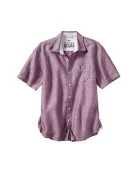 Tommy Bahama | Blue 'party Breezer' Linen Camp Shirt for Men | Lyst