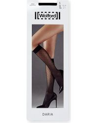 Wolford | Black Daria Knee-high Socks | Lyst