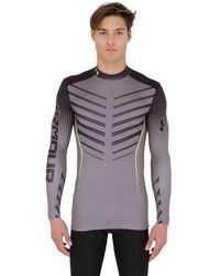 Under Armour | Gray Coldgear Compression Long Sleeve T-shirt for Men | Lyst