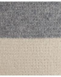 Vince - Gray Grey Colourblocked Shawl Car Coat - Lyst