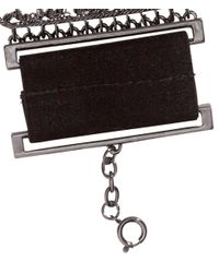 H&M - Black Sparkly Stone Bracelet - Lyst