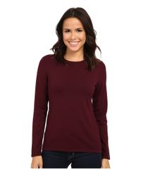 Pendleton - Red Jewel Neck Pullover - Lyst
