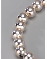 Loree Rodkin | Metallic Tasseled Beaded Bracelet | Lyst