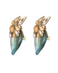 Alexis Bittar - Blue Desert Jasmine Petal Clip Earring - Lyst