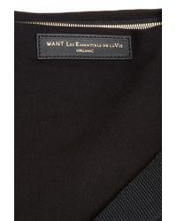 Want Les Essentiels De La Vie - Black Hartsfield Weekend Tote Bag for Men - Lyst