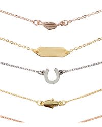 H&M - Metallic 8-pack Bracelets - Lyst