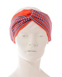 Fendi | Orange Eyeprint Headband | Lyst
