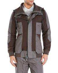 Nicholas K - Brown Boris Hooded Jacket for Men - Lyst