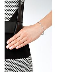Aurelie Bidermann   Metallic Silver Rosebud Bracelet   Lyst