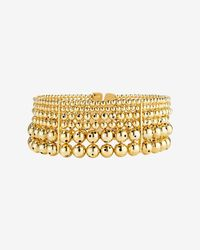 Paula Mendoza | Metallic Toledo Multi Layer Ball Choker | Lyst