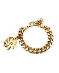 Lulu Frost | Metallic Victorian Plaza Charm Number Bracelet #9 | Lyst