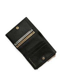 Tory Burch - Black Robinson Mini Wallet - Lyst