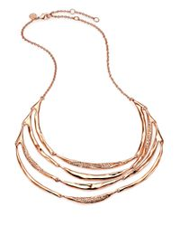 Alexis Bittar | Metallic Miss Havisham Liquid Crystal Tiered Bib Necklace for Men | Lyst
