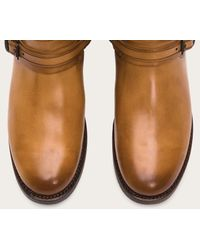 Frye | Brown Abbey Plate Tall | Lyst