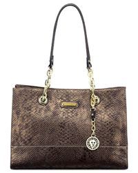 Anne Klein - Metallic Coast Is Clear Small Chain Tote - Lyst