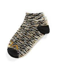 Volcom - Blue 'runaway' Ankle Socks - Lyst