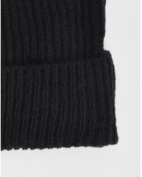 Cheap Monday - Cm Beanie Black - Black for Men - Lyst