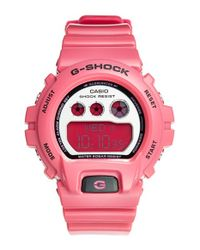 G-Shock - Pink Digital Watch - Lyst