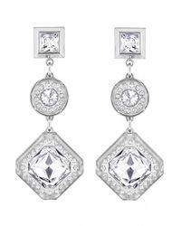 Azzaro | Metallic Silver Dauphiné Earrings | Lyst