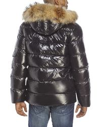 Pyrenex - Mens Quilted Authentic Shiny Coat Black for Men - Lyst