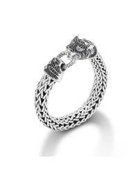 John Hardy | Metallic Woven Bracelet for Men | Lyst