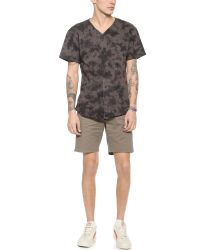 Obey - Brown Working Man Shorts for Men - Lyst
