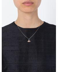 Vivienne Westwood | Pink Flower Orb Pendant Necklace | Lyst