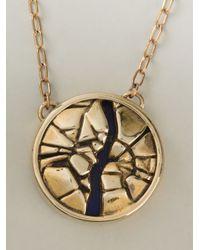 Pamela Love | Metallic 'titan Medallion' Necklace | Lyst