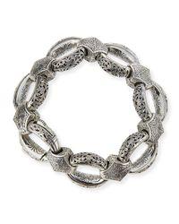 Konstantino | Metallic Sterling Silver Link Bracelet | Lyst