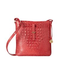 Brahmin - Red All Day Crossbody - Lyst