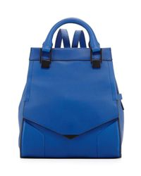 Pour La Victoire - Blue Prouve Smooth Leather Backpack Cobalt - Lyst