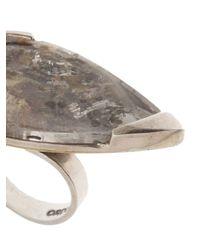 Beth Orduna | Metallic Teardrop Ring | Lyst