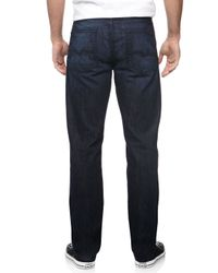 7 For All Mankind - Blue Slimmy Straight-Leg Jeans for Men - Lyst