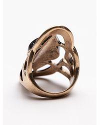 Free People - Metallic Cosmic Stone Ring - Lyst