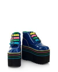 House of Holland - Blue Aw07 'one Trick Pony' X Kickers - Lyst
