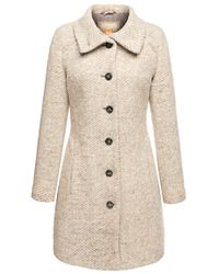 BOSS Orange - Natural Coat: 'okirana2' In New-wool Blend - Lyst