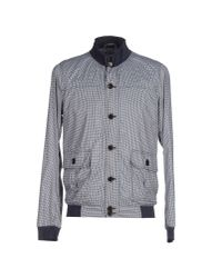 Paolo Pecora | Blue Jacket for Men | Lyst
