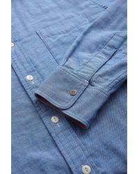 Faherty Brand - Blue Reversible Belmar Workshirt for Men - Lyst