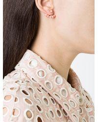 Yvonne Léon - Metallic 5 Petit Coral Ear Jacket - Lyst